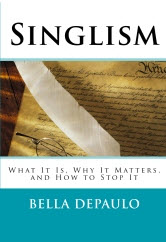 Bella DePaulo Singlism book cover