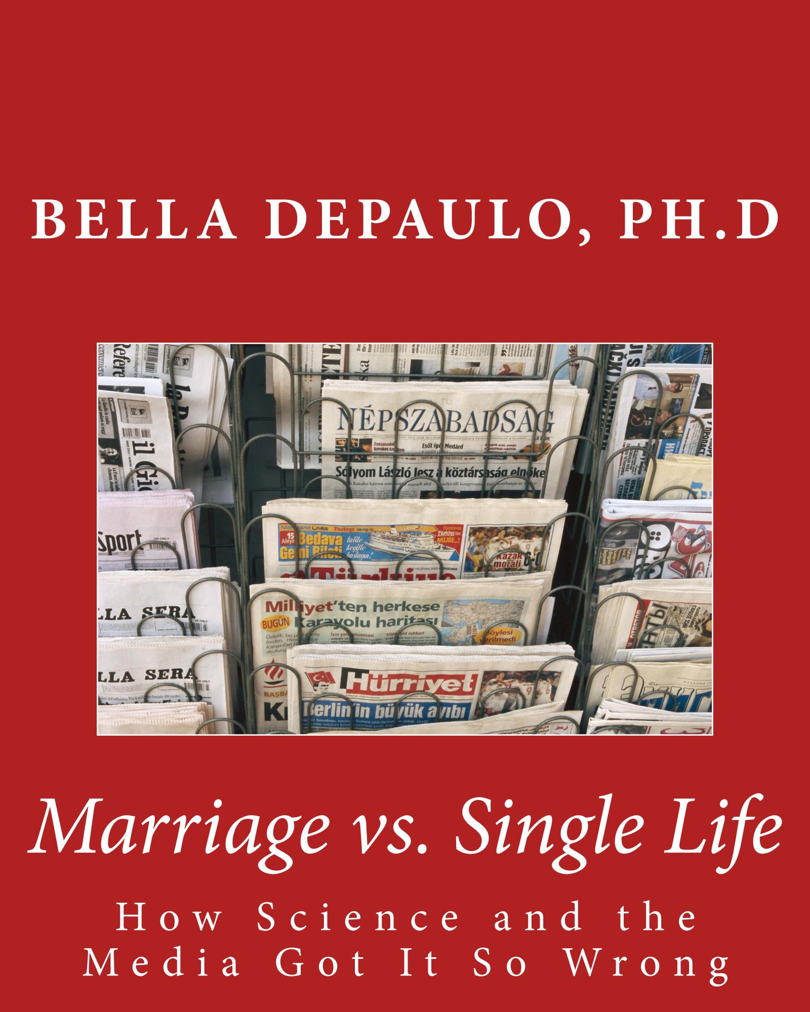 single vs married essay Check out our top free essays on single life vs married life to help you write your own essay.